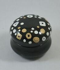 Handgefertigte Keramikdose - Vorratsdose - Aufbewahrungsdose