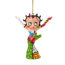 Betty Boop by Romero Britto  Strikes A Pose  Ornament - NEW -