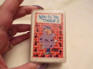 VTG 1966 Who's The Thief Card Game