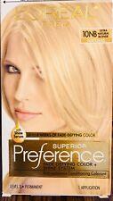 LOreal Paris Superior Preference Permanent Hair Color 10NB Ultra Natural Blonde.