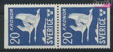 Suède 290Do/Tu vertical Couple neuf avec gomme originale 1953 cygnes (9158075