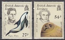 British Antarctic Territory Nr. 130-131** Naturforscher