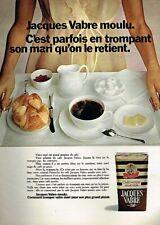 K- Publicité Advertising 1970 Le Café Jacques Vabre