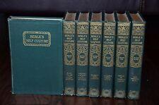 BERLE'S SELF CULTURE CHILDREN'S READER COMPLETE VINTAGE SET 7 ANTIQUE BOOKS 1926