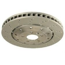 Rear Left or Right Vented Drilled Dimpled Disc Brake Rotor O.E.M. for Audi R8