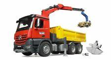 BRUDER MB AROCS Construction Truck With Crane & Accessories 1 16