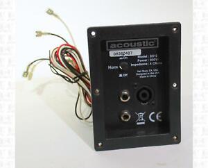 Acoustic B810 Recessed Speaker Jack Panel