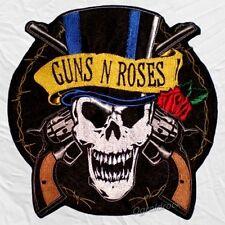 Guns N' Roses Skull Logo Embroidered Big Patch Slash Axl Rose Steven Adler Izzy
