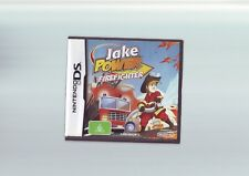 JAKE POWER FIREFIGHTER - SAM NINTENDO DS GAME / LITE DSi 3DS COMPATIBLE COMPLETE