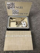 Vintage NOS Modern Piezo Electric Gas Gun Lighter Derringer Angel Mascot Japan
