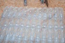 12 scroll invitation tubes-plastic CLEAR DIY Invitacion tubito pergamino