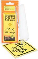 New listing Snowboard/Ski Wax from Deys - Free Plexi Scraper. Gift Ready Combo 4oz/115g