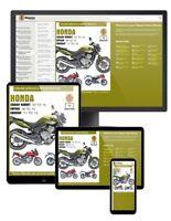 Honda CB600 Hornet, CBF600 & CBR600F (2007-2012) Haynes Online Manual