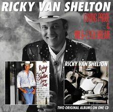 Ricky Van Shelton - Loving Proof / Wild-Eyed Dream [New CD] UK - Import