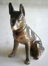 Vintage German Shepherd Puppy Dog K-9 Ceramic Porcelain, No Markings on Bottom