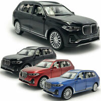 BMW X7 2019 SUV 1:32 Scale Model Car Diecast Gift Toy Vehicle Kids Collection