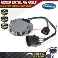 Radiator Control Fan Module for Audi A3 TT VW Golf Jetta Passat Polo 1TD959455