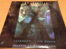 X-Files Ascension One Breath Rare LaserDisc Duchovny Anderson SEALED BRAND NEW