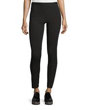 Helmut Lang Reflex Black Stretch Gaberdine Legging Pants Small *NEW* $265
