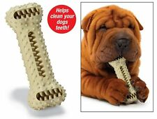 Dog Bone Toothbrush Cleans Teeth Play Toy Hygiene Healthy Tooth Brush Pet Parade