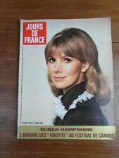Magazine mode fashion JOURS DE FRANCE - 907 - ANNEE 1972 - SUSAN HAMPSHIRE ASLAN