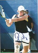 Romina Oprandi Tennis 5x7 PHOTO1 Signed Auto