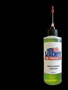 100% Synthetic Oil For Lubricating Gun Reloading Equipment-Large 4oz Bottle