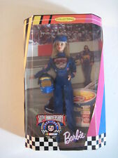 Barbie Doll, Nascar Barbie 50th Anniversary Edition! NIB!  stock car