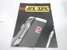 VINTAGE MUSICAL INSTRUMENT CATALOG #10353 - APK XPK PREMIER DRUMS
