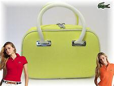 LACOSTE Ladies Mini Handbag Classic 2.17 Pastel Yellow AUTHENTIC