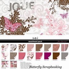 SEI PAISLEY /& PETALS Collection 12X12 Scrapbooking Kit