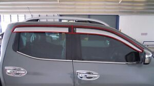 WEATHER GUARD PAINTED FOR NISSAN FRONTIER NAVARA NP300 2014 - 2017