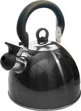 Prima 2.5l Whistling Kettle 11156C Metallic Black