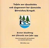 Chronik Tafeln Geschichte und Gegenwart Gemeinde Börnichen/Erzgebirge, Nachtrag