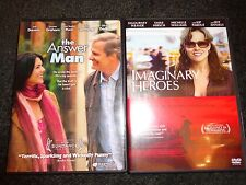 THE ANSWER MAN & IMAGINARY HEROES-2 movies-JEFF DANIELS, SIGOURNEY WEAVER-DVD