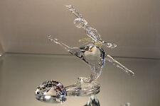 "Swarovski Crystal SCS 2004 ""Magic of Dance"" Anna Figurine COA & Box & Plaque"