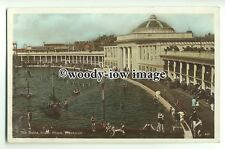 tq0024 - Lancs - Early View of the Baths, South Shore, in Blackpool - postcard