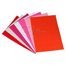 15Pcs A4 Sheets Craft Felt Fabric Handicraft Scrapbooking 15 Assorted Color DIY