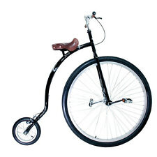 """QU-AX Hochrad Gentleman Bike 36"""" schwarz"""