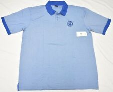 $54 NWT Mens Rocawear Embroidered Contrast Stretch Polo Shirt Blue 2XB 2X N721