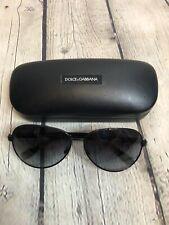 Dolce & Gabbana D&G Black Aviator Sunglasses Mens Or Womens