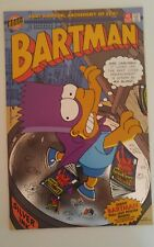 Bartman (1993) #1 direct edition silver foil cover / Bartman pull-out poster