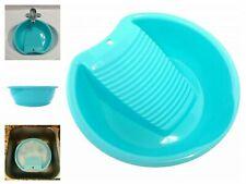 Portable Laundry Wash Basin Classic Durable Design Hand Washboard Scrubber
