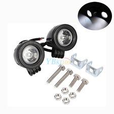 2x 10W LED Work Light Off Road Driving Fog Lamp Spot Motorcycle Motorbike 6500K