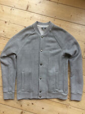 COS Grey Jersey Baseball Bomber Jacket - Small - Excellent Condition