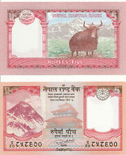 Nepal - 5 Rupees 2017 UNC - Pick New