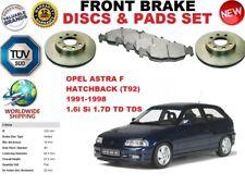 für Opel Astra F Fließheck T92 91-98 Vorderbremse Scheibensatz + BREMSBELÄGE
