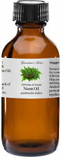 Neem Oil - 4 oz - 100% Pure and Natural - Free Shipping - US Seller
