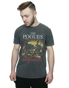 The Pogues Men's Rum Sodomy And The Lash Washed T-Shirt