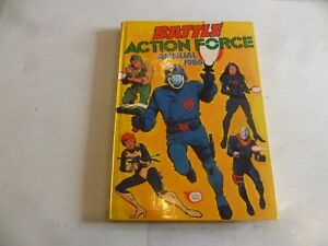 BATTLE ACTION FORCE ANNUAL - Year 1986 - UK Annual - (With Price Tag)